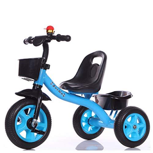 GIFT Bicicleta para Niños Niños Niños Triciclo El Asiento De Triciclo Se Puede Ajustar, Rueda Suave/Goma EVA, 2-6 Años,I