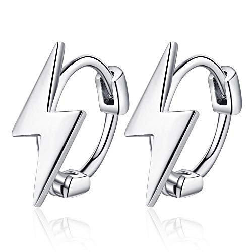 Pendientes Mujer Plata De Ley 925 Piercing Stud Earring Mujeres Wedding Party Jewelry - Plata