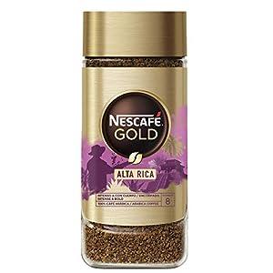 NESCAFÉ GOLD ALTA RICA aroma y sabor, café soluble 100 % arábica de América Latina, frasco de vidrio, 100 g