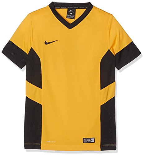Nike Academy14 T-Shirt Garçon, University Gold/Black/Black, FR : L (Taille Fabricant : L)