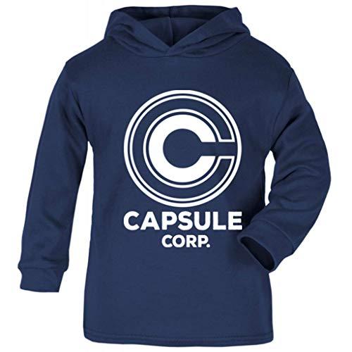 Cloud City 7 Capsule Corp Dragon Ball Z Baby and Kids Hooded Sweatshirt