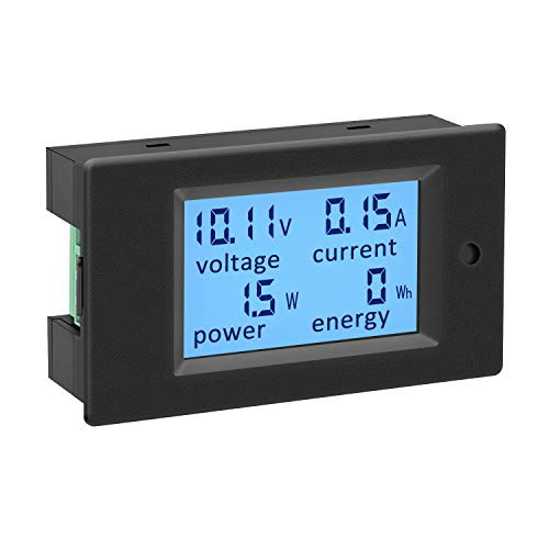 AC Voltage Current Monitor, DROK AC 80-260V 100A...