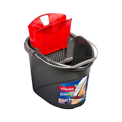 Vileda Bucket Ultramax - Accesorio fregona Gris, Rojo