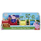 Peppa Pig 07210 Wooden Grandpa Pigs Train