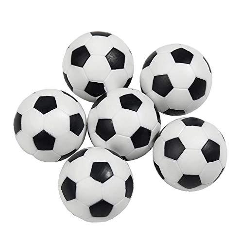 CXMM Tabla De Bola Mini Balones De Plástico Superior del Juego De Fútbol De Repuesto 6pcs