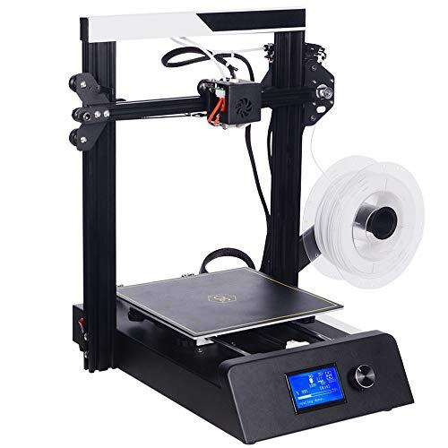 HLKYB Imprimante 3D, avec lit Chauffant de Grande Taille de Haute précision, Ligne de Carte SD Fonction d'impression Format d'impression 220 x 220 x 250 mm (env. 2,2 Livres PLA)