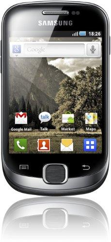 Samsung Galaxy Fit S5670 Smartphone (8,4 cm (3,3 Zoll) Display, Touchscreen, 5 Megapixel Kamera, Android 2.2, UMTS) metallic-schwarz