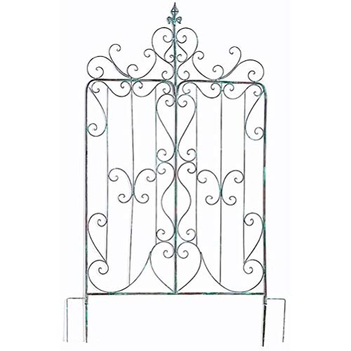 Garden Arch Made Of Iron, Garden Trellises - Garden Trellis Climbing Plant Support Frames for Climbing Plants Outdoor Garden Lawn Backyard Patio