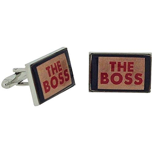 Ministry of Chaps ??The Boss?? Splendid Pair Of Cufflinks Set in Gift Box HM710