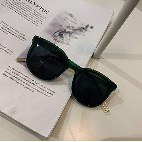 Extraordinary (1 Pieza) Gafas de Sol cuadradas para Hombres y Mujeres,polarizador de conducción de ensanchamiento Retro clásico Harajuku,2 Colores