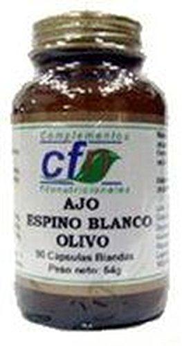 Ajo, Espino Blanco y Olivo 90 cápsulas de Cfn
