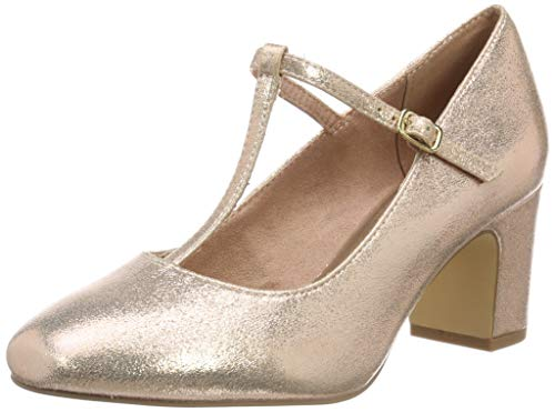 Tamaris Damen 1-1-24432-22 952 Slipper, Gold (Rose Metallic 952), 38 EU