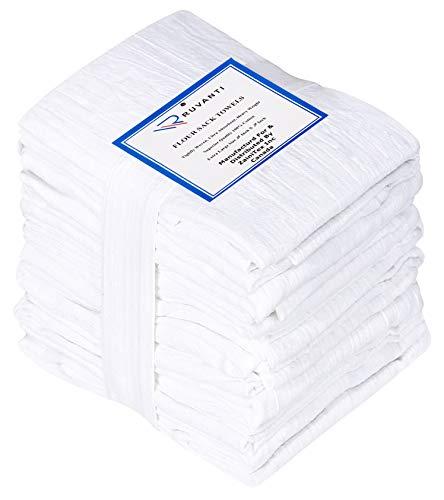 Ruvanti 6 Pack Extra Large Flour Sack Dish Towels (28