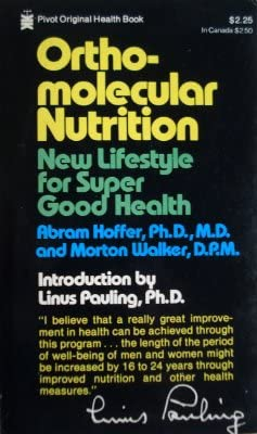 Ortho Molecular Nutrition New Lifestyle For Super Good Health product image