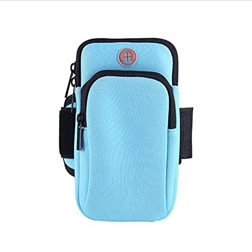 BXing Universal 6'Brazalete para Correr Funda para teléfono Soporte para teléfono Bolsa para Correr Fitness Gimnasio Brazalete
