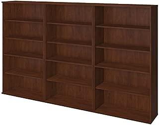 Scranton & Co 66H 3 Piece Bookcase Set in Hansen Cherry