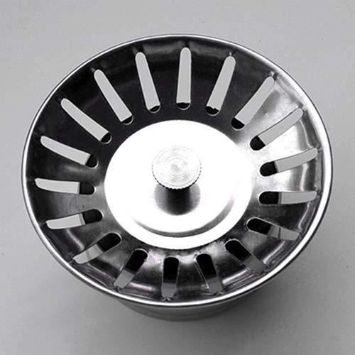 Yimosecoxiang Wasserdichter Küchenabflusssieb aus Edelstahl für Dopant Spüle Einheitsgröße