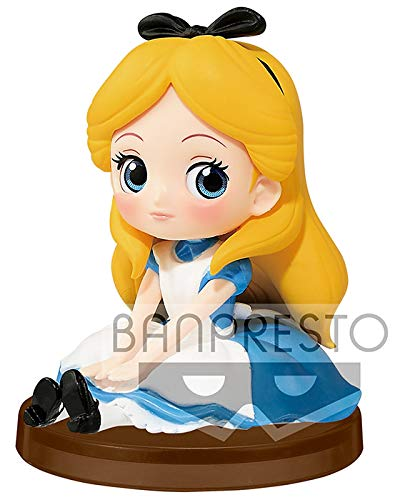 Disney- Figura QPOSKET Alicia 7 CM Elsa...