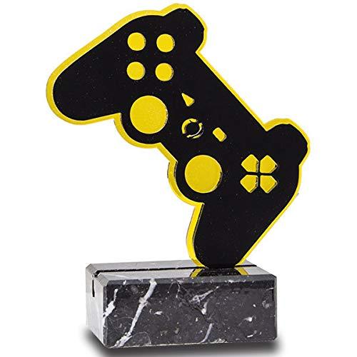 Trofeos Martínez - Trofeo de metacrilato con Base mármol Videojuegos 15,5cm.