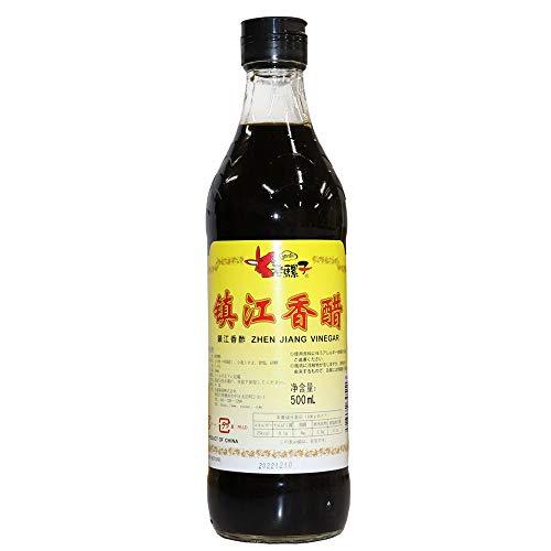 ロウバ 鎮江香酢 (中国黒酢) 500ml 中国人気香酢