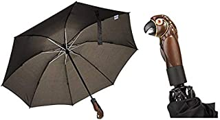 Mary Poppins Returns Compact Inverted Umbrella With Parrot Head