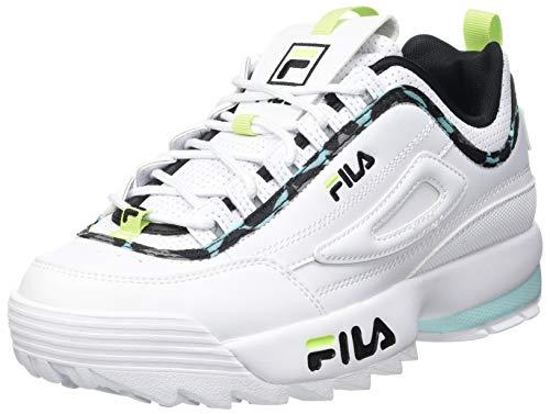 FILA Disruptor A wmn zapatilla Mujer, blanco (White/Blue Tint), 38 EU