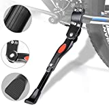 ADEPTNA Heavy Duty Bike Kickstand Aluminium alloy Adjustable Bicycle Side Kickstand for Bike