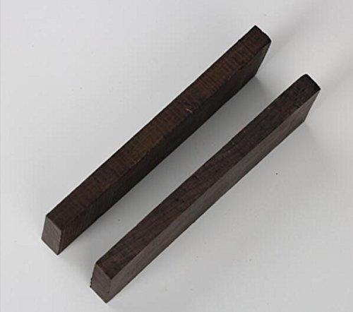 CHENGYIDA 2x Afrikaans Blackwood, Pen Leeg, hout handvat blok hout pen draaien blanco's, draaibank spindel 302.22.2cm/11.899 inch