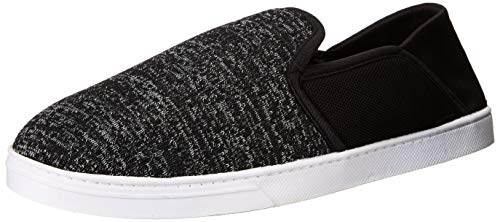 Price comparison product image Dearfoams Men's Knit Fold Down Closed Back Slipper,  Black,  M M US