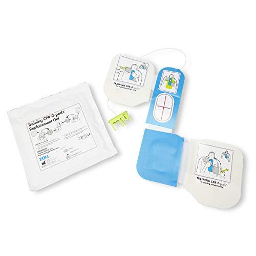 Zoll AED Plus - Set de entrenamiento para renimación AED (incluye 2 almohadillas CPR-D y 1 sensor del pulso cardiaco y almohadillas reutilizables)