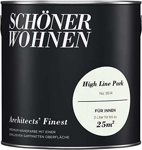 SCHÖNER WOHNEN FARBE Wand- und Deckenfarbe Architects' Finest, High Line Park 2 l, High Line Park