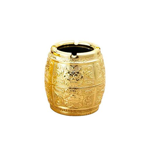 Ashtrays Interior Ash Tray Home Ashtrays Zinc Alloy Ashtray Three Dimensional Carved Alloy Ash Tray Suitable for Tabletop Patio Home Decoration Portable Ashtrays Car Ashtrays Ash Trays