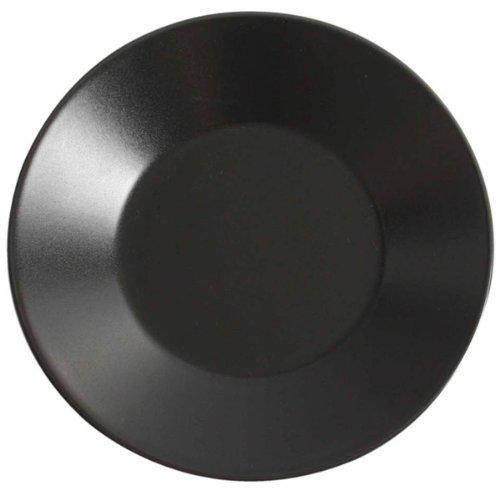 Viejo Valle Midnight - Platos llanos anchos (21 cm, 6 unidades), color negro