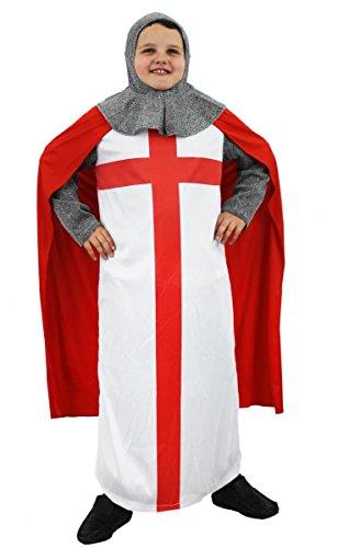 Costume de Chevalier croisé ILOVEFANCYDRESS pour Enfant. ( 12-14 Ans )