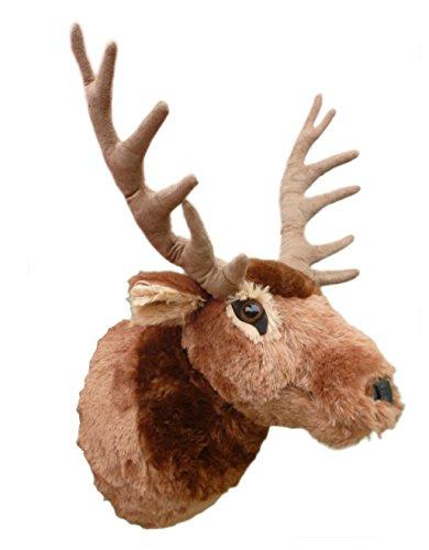 Adore 15' Teton The Elk Plush Stuffed Animal Walltoy Wall Mount