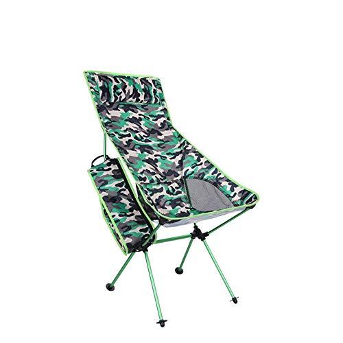 ShiSyan Camping Silla Plegable Silla Neto de Camp portátil Plegable de Aluminio de Malla Transpirable Pesca Que acampa de Silla de jardín Silla al Aire Libre