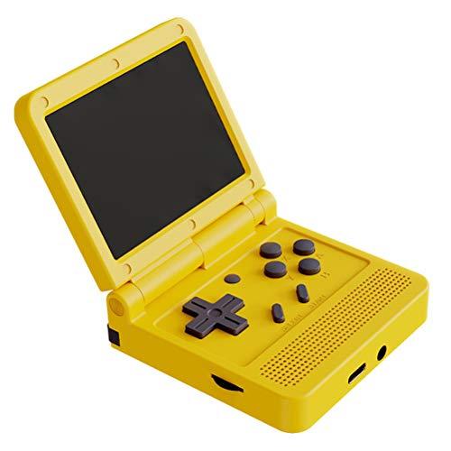Knowoo Tragbare Spielekonsolen, Handheld-Spielekonsole Stereo-Videospielkonsole Kippt die GBA-Spielekonsole...