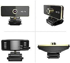 CttiuliSxt Webcam, HD 1080P Webcam With Microphone, Manual Focus Webcam, Computer Camera Web Camera PC Webcam for Video Ca...