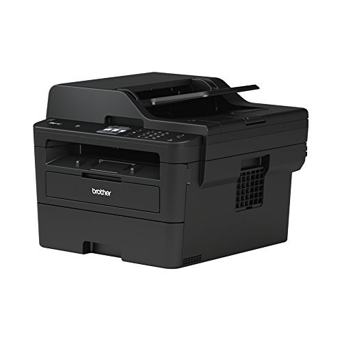 Brother MFC-L2750DW Kompaktes 4-in-1 S/W-Multifunktionsgerät (34 Seiten/Min.Drucken, Scannen, Kopieren, Faxen, A4, echte 1.200x1.200 dpi, Vollduplex, 250 Blatt Papierkassette, USB 2.0)