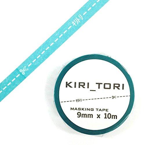 キリトリマスキングテープ ミズイロ 1個パック KM-05