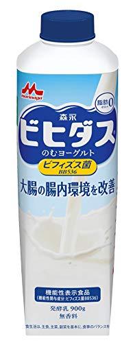 森永乳業 ビヒダスのむヨーグルト脂肪ゼロ 900g×6本