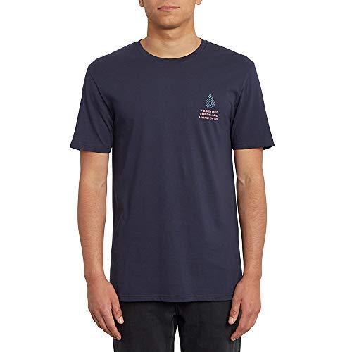 Volcom Radiation BSC SS Herren-T-Shirt M Marineblau