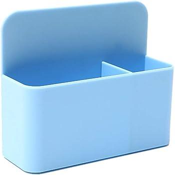 MYA Cestino di stoccaggio Organizer da Ufficio portapenne pennarelli Porta matite Magnetico Portapenne Magnetico colorato Lavagna Magnetica per Lavagna Bianca Blu