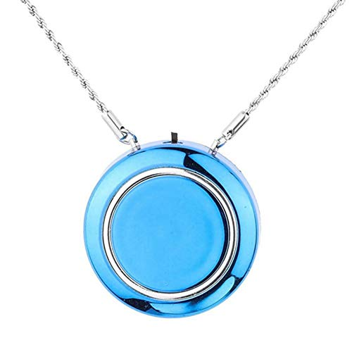 Learn More About Lay Personal Wearable Air Purifier Necklace,Mini Portable Air Freshner Ionizer/Nega...