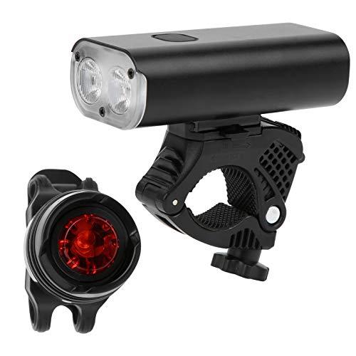 Aoutecen Luz Trasera para Bicicleta, luz Trasera para Bicicleta, para Bicicletas, vehículos eléctricos