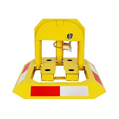 DYFYMXCar Sicherheitspoller Heavy-Duty-Metall-Poller-Parksperre, Safe Lane Parking Interceptor O-Typ Parkplatz