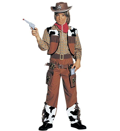 Widmann 36776 - kostuum Cowboy in maat 5/7 jaar
