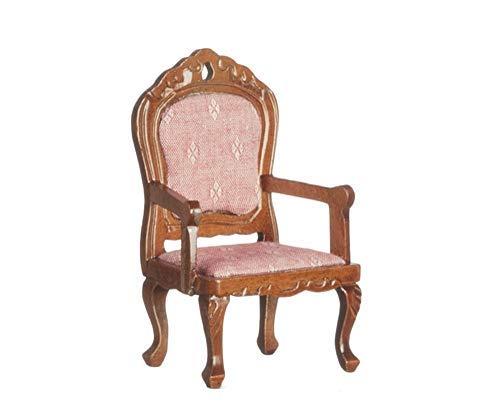 Melody Jane Casa Muñecas Nogal Rosa Fauteil Sillón Victoriano Muebles de Salón