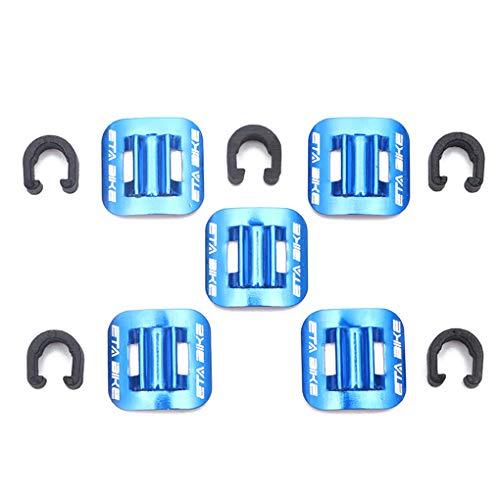 Fgyhty 5pcs de Tipo C de la Abrazadera Fija Guía del Cable...