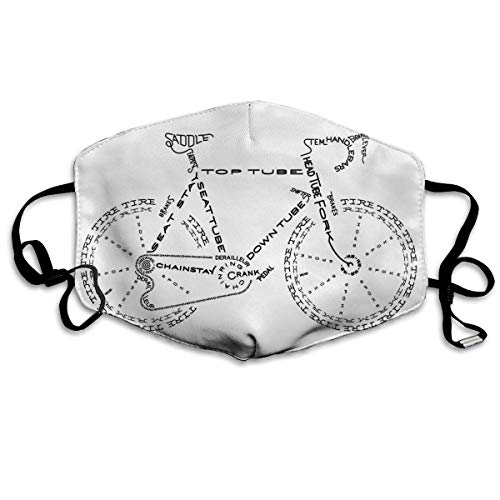 TABUE Face Guard Mond Cover Dag Huis Fiets